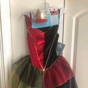 Disney Queen of Hearts costume NWT